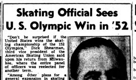 Skating Official Sees U.S. Olympic Win in '52. November 3, 1948.
