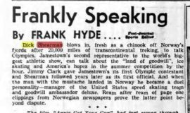 Frankly Speaking. March 13, 1952.