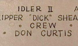 Idler II crew, 1939.