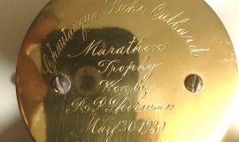Chautauqua Lake Outboard Marathon Trophy. 1930.