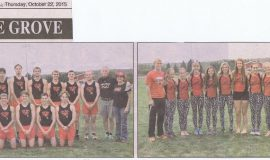 2015 boys and girls cross country teams