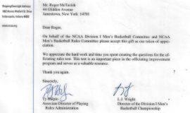 2007 NCAA letter.