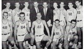 1961 Fredonia High School basketball team.