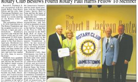 Rotary Club Bestows Fourth Paul Harris Fellow To Member