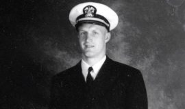Sam Hammerstrom served in the U.S. Navy from 1942-46.