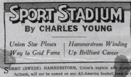 Sports Stadium. 1939.