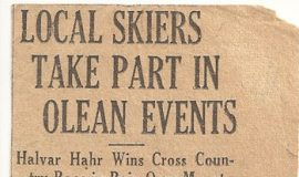 Local Skiers Take Part In Olean Events.