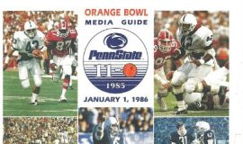 Orange Bowl Media Guide, January 1, 1986.