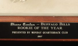 Buffalo Bills Rookie of the Year, 1987.
