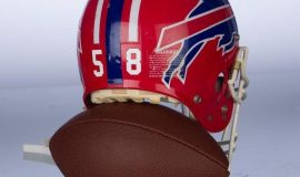 Buffalo Bills helmet.
