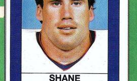 Shane Conlan trading card, 1988.