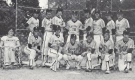 Frewsburg baseball.  Conlan is third from left in back row. 1981.