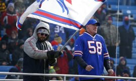 Shane Conlan attending a Buffalo Bills game, December 18, 2016.12-18-16