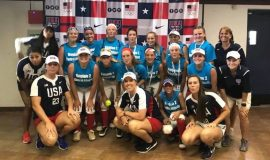 Sheilah Gulas was the Region 2 Blue Assistant coach 2018 at the 12 Under USA Softball All American Games.