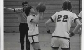 Sheilah Lingenfelter circa 1978-79 at Southwestern.