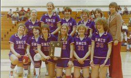 Southwestern Central School girls basketball team circa 1978-79.