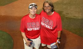 Sheilah Gulas was the Region 2 Blue Assistant coach 2019 at the 12 Under USA Softball All American Games.