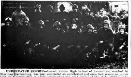 Undefeated Season. November 9, 1946.