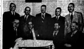 Hardenburg Heads Turner A.C. February 6, 1951.