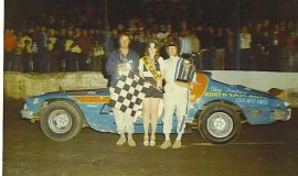 Skip Furlow and Fred Knapp, 1976 race team.