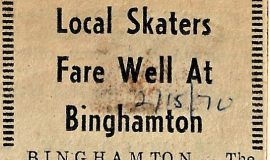 Local Skaters Fare Well At Binghamton. February 15, 1970.