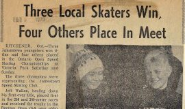 Three Local Skaters Win, Four Others Place In Meet. February 9, 1970.
