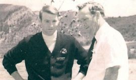 Stan Marshaus, left, with Arnold Palmer during the summer of 1968 in Vail, Colorado.