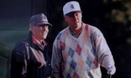 Stan Marshaus and President Bill Clinton.