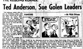 Ted Anderson, Sue Golen Leaders. December 1, 1965.