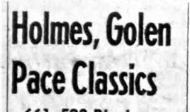 Holmes, Golen Pace Classics. November 3, 1965.