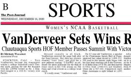 VanDerveer Sets Wins Record. December 16, 2020. Page 1.