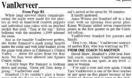 VanDerveer Sets Wins Record. December 16, 2020. Page 2.