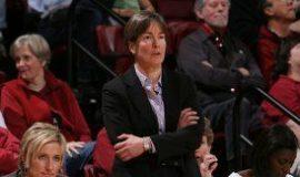 Coach VanDerveer at work.
