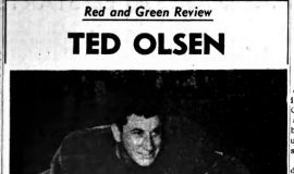 Ted Olsen. October 7, 1949.