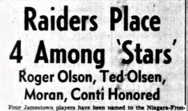 Raider Place 4 Among 'Stars'. 1949.