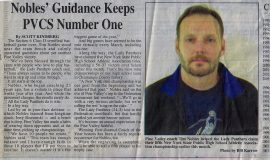 Nobles Guidance Keeps PVCS Number One. 2003.