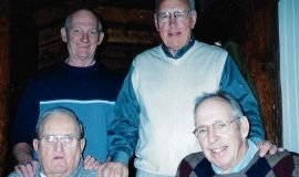 Left to right: Ken Martin, Ray Fashano, Bob Winterburn and Ben Drake.