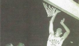 Tom Prechtl during his playing days at Niagara University. Photos courtesy of Clem Worosz.
