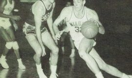 Tom Prechtl during his playing days at Niagara University. Photos courtesy of Clem Worosz.