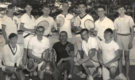 1966 SWCS Tennis Team.