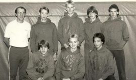 1987 Sectional XC Team.