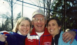 2001 Amy's Run with Jenny Dickinson and Cesca Lyons.