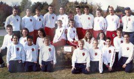 2001 SWCS XC Team.