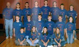 2003 SWCS XC Team.