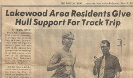 Lakewood Area Residents Give Hull Support For Track Trip. June 19, 1974.6-19-74