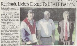 Reinhardt, Liebers Elected To USATF Positions.  2013.