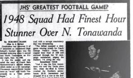 1948 Squad Had Finest Hour In Stunner Over N. Tonawanda. August 31, 1963.