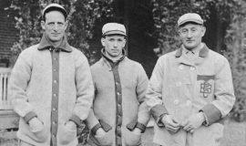 Fred Clarke, Tommy Leach, Honus Wagner.