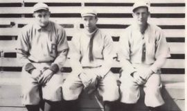 Honus Wagner, Tommy Leach and Fred Clarke - great Pirate triples hitters.
