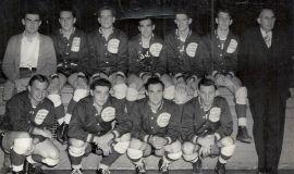 Vinnie Calarco - front row third from left - Calarco's Trojans, 1963.
